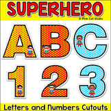 Superhero Theme Bulletin Board Letters - Classroom Decor