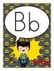 Superhero Theme Alphabet Posters