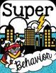 Superhero Theme-Behavior Chart