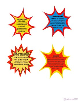 Superhero Theme Binder