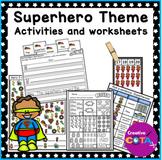 Superhero Theme Differentiated Set