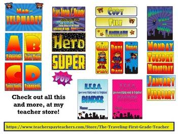 Superhero Theme Bundle Pack