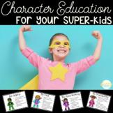 Superhero Themed Character Education Set