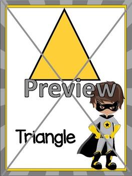 Superhero Theme Classroom Decor Editable