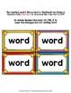 Superhero Theme Classroom Decor Zeno Word Wall Cards
