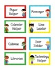 Superhero Theme Classroom Jobs