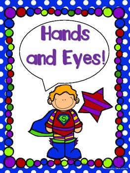Superhero Theme Classroom Whole Brain Teaching Posters