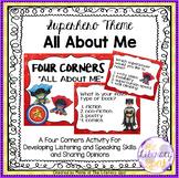 Superhero Theme FOUR CORNERS All About Me