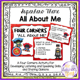 Superhero Theme FOUR CORNERS All About Me