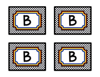Superhero Theme Guided Reading Bin Labels in White