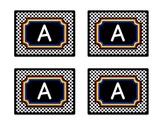 Superhero Theme Guided Reading Bin Labels in Black