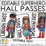 Superhero Hall Passes - Superhero Classroom Decor