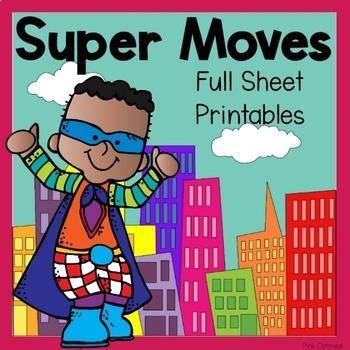 Superhero Theme Movement Pack