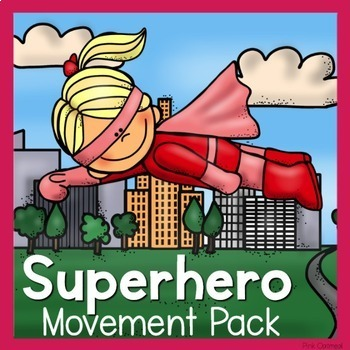 Superhero Theme Movement Pack