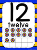 Superhero Theme Number Posters 0-20 - Large, Small & Flashcards