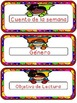 Superhero Theme: Objective Cards  for Dual Classroom with
