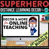 Superhero Theme | Online Teaching Backdrop | Google Classr