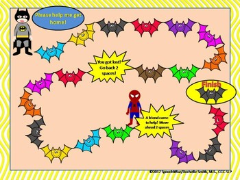 Superhero Theme Open Ended Board Games (Batman, Spiderman, Hulk, & More!)