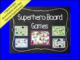 Superhero Theme Open Ended Board Games