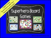 Superhero Theme Open Ended Board Games (Batman, Spiderman,
