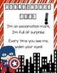 Superhero Theme Punctuation Posters