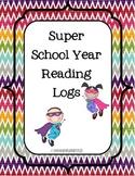 Superhero Theme Reading Logs
