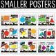 Superhero Theme Shape Posters - Superhero Theme Classroom Decor
