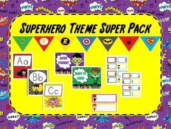 Superhero Theme Super Pack