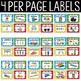 Superhero Theme Supply Labels - Superhero Theme Classroom Decor