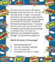 Superhero Theme Task Cards