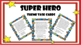 Superhero Theme Task Cards