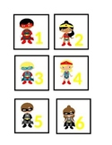 Superhero Theme Teacher Calendar and Calendar Wall Dates