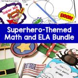 Superhero Math, Reading, & Writing Activities