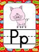 Superhero Classroom Theme- Alphabet Posters