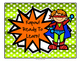 Superhero Themed Behavior Charts and Weekly Tracker