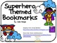 Superhero Themed Bookmarks