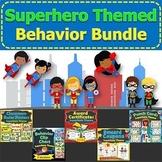 Superhero Classroom Theme Behavior Management BUNDLE Rewar