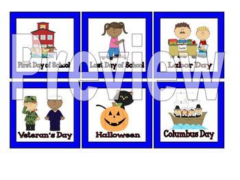 Superhero Themed Classroom Calendar