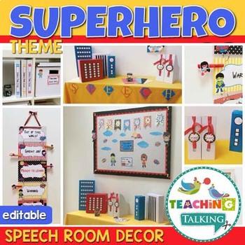 Superhero Themed Classroom Decor