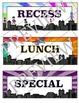 Superhero Themed Classroom Schedule