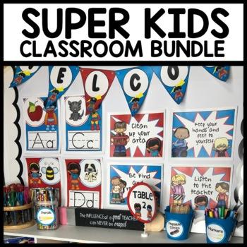 Superhero Themed Decor BUNDLE