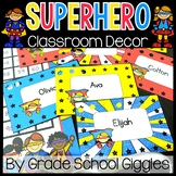 Editable Superhero Theme Decor ~ 400 Pages of Superhero Decor!