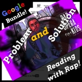 Superhero Theme Google Classroom ELA Activities Using Google Forms & Parody Song