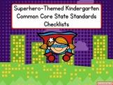 Superhero-Themed Kindergarten Common Core State Standards