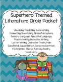 Superhero Themed Literature Circle Packet: Use With Any Book