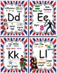 Superhero Themed Math Alphabet Posters