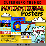 Superhero Themed Motivational Posters