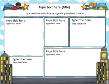 original-1421241-4 Teachers Newsletter Templates on owl theme, for first grade, free preschool,