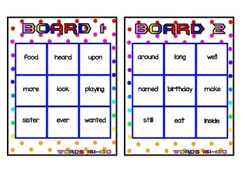Superhero Themed Oxford Sight Word Game (Words 161-200)