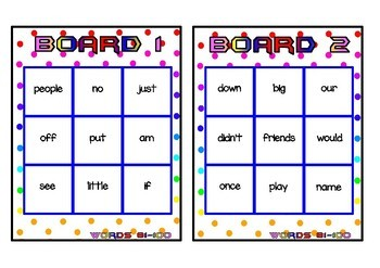 Superhero Themed Oxford Sight Word Game (Words 81-120)